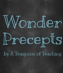 Quotes from wonder Precept Quotes from Wonder by A Teaspoon of Teaching TpT 54