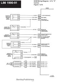 corvette wiring diagrams wiring diagram schematics wiring diagram l98 engine 1985 1991 gfcv tech bentley