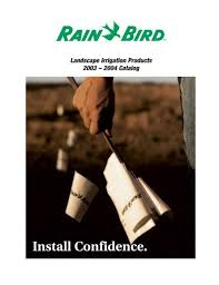 Rain Bird E 6c Programming Chart Rainbird Ewing Irrigation