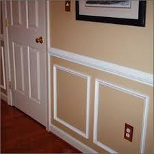 maybe a little lighter wall color but perfect find this pin and more on wainscoting by christine lyster chair rail and wall molding