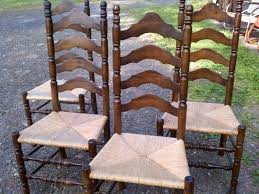 6 ladder back chairs ladder back chairs with cane seats antique ladder back chairs with rush