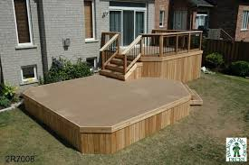 Backyard Deck Designs Plans Simple Inspiration Ideas