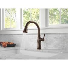 Delta Pull Down Kitchen Faucet Delta Faucet 9197 Ar Dst Cassidy Arctic Stainless Pullout Spray