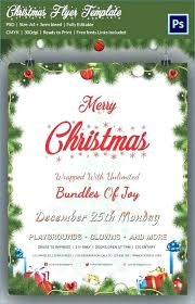 Printable Christmas Flyers Free Printable Christmas Party Flyer Templates Invitation Vector