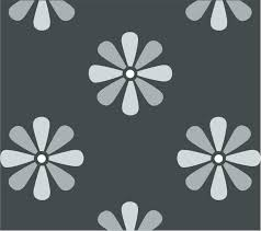 large daisy flower wall stencil available to from the large daisy repeat pattern stencil