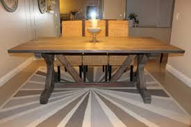 weathered gray fancy x farmhouse table with extensions diy dining room table extension