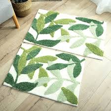 green leaf rug green leaves floor mat living room doormats kitchen carpets house doormats anti slip green leaf rug