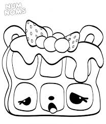 Nom Nom Coloring Pages Gallery Coloring For Kids 2019