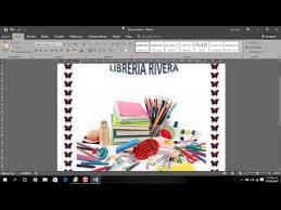Formato De Afiches En Word Como Realizar Afiche De Publicidad En Word 2016 Youtube