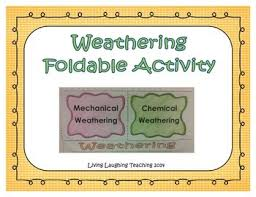 Mechanical And Chemical Weathering Venn Diagram Mechanical V Chemical Weathering Worksheets Teaching