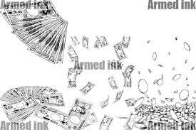 商用利用可の素材お金のイラストを販売中 Materials Powered By Base