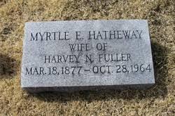 Myrtle Emma Hatheway Fuller (1877-1964) - Find A Grave Memorial