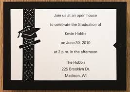 11 Graduation Party Invitations Templates Simple Invoice