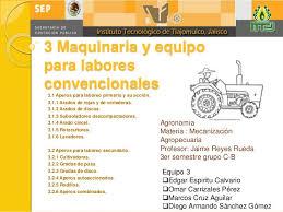 3 maquinaria y equipo agricola