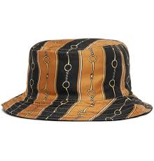 Gucci Bucket Hat Size Chart Gucci Reversible Velvet And Printed Twill Bucket Hat