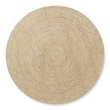 natural braided round rug 8 natural