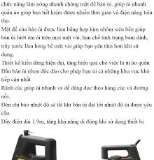 Hot Sale 50%] Bàn ủi Philips HD1172 Cao Cấp Công Suất Lớn 1000W-Bàn ủi  Philips Điện Máy Xanh Nhập Khẩu Dễ Dàng Sử Dụng An Toàn.