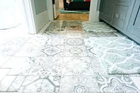 patterned bathroom floor tiles gray and white tile modern bathroom with patterned gray and white tiles patterned bathroom floor tiles
