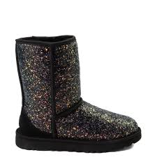 Womens Ugg Classic Short Ii Cosmos Boot Black