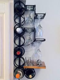 home furniture unique corner wine racks ideas cool black polished wrought iron ideas come black mini bar home wrought