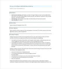 Brilliant Ideas Of Board Directors Meeting Agenda Templates