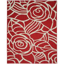 garland rug rhapsody santa fe c ivory 8 ft x 10 ft area
