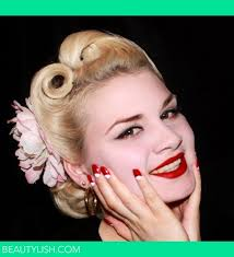vine 1940 s hair makeup and nails