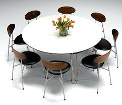 modern round dining table for 6 amazing of modern round dining set white round dining table