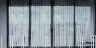 living balcony space glass window door outdoor view relax space