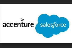 Salesforce Logo Accenture Vlocity Expand Partnership For Cloud Packages On