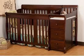 com stork craft portofino 4 in 1 fixed side convertible crib and changer espresso baby