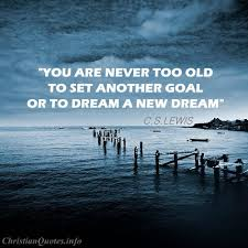 Quotes From Cs Lewis Extraordinary CS Lewis Quote Another Goal ChristianQuotes