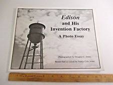 thomas edison  1980s thomas edison and his invention factory photo essay 29 pages