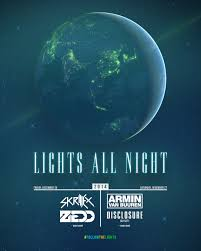 2014 Lights All Night Poster Design For Lights All Night 2014 Pixelpro Flyers In
