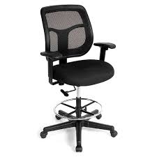 furnitureastounding the best standing desk chairs reviewed and ranked bar height office furniture apollomeshbackchair astounding the