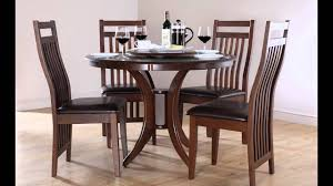 Round Kitchen Tables For 4 Cheap Dining Tables And 4 Chairs Youtube