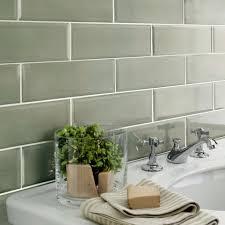 Wall Tiles Kitchen Edge Salvia Sage Green Green Ceramic Kitchen Tiles Wall Tiles