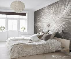 room elegant wallpaper bedroom: modern photo wallpaper elegant feather wallpaper custom d wall murals room decor bedroom sitting room kids girls interior design decoration download