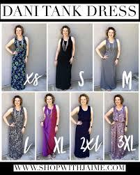 Lets Talk About The Brand New Lularoe Dani Tank Dress