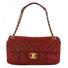 Chanel Red Iridescent Calfskin Leather Medium Chic Quilt Flap Bag &  Adamdwight.com