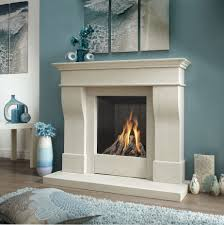 Favorable Ideas Of Freestanding Fireplace Designs In Home Interior  Decoration : Great White Frame Electric Fireplace