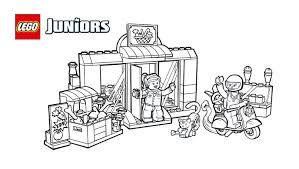 60057 Camper Van Lego Coloring Sheets