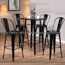 metal counter height bar table set pub furniture oline malaysia petaling jaya sri petaling sungai
