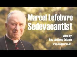 Image result for Photo of Fr. Anthony Cekada with Archbishop Lefebvre