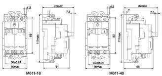Motor Breaker Sizing Chart Circuit Breaker M611 Motor Protection Circuit Breaker