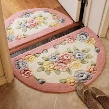 half circle area rug awesome thick living room carpet big simple floor mat yoga mat kid