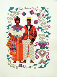 carlos merida prints of guatemalan and mexican traje on arte maya website