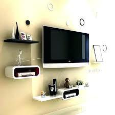 under tv shelf decor floating shelf shelf ideas under shelf image of for cable box unit