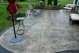 concrete patio cost stamped within of paver per square foot