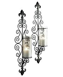 iron scroll wall decor cafe iron scroll wall decor cafe home black wrought iron candle wall french country candle wall sconces country style candle wall